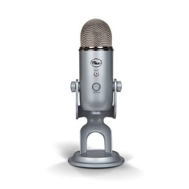 Silver USB Microphones